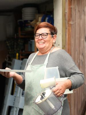 Ingrid Motosso, Mitarbeiterin in der Bäckerei
